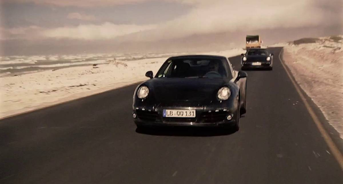 2012 Porsche 911 - Hot Weather Testing in South Africa