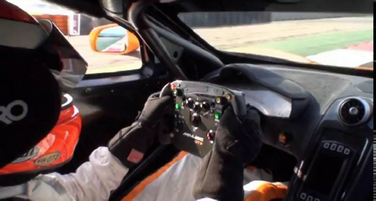 McLaren MP4-12C GT3 2011 - Chris Goodwin Driving