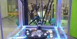Робот манипулятор с шариками