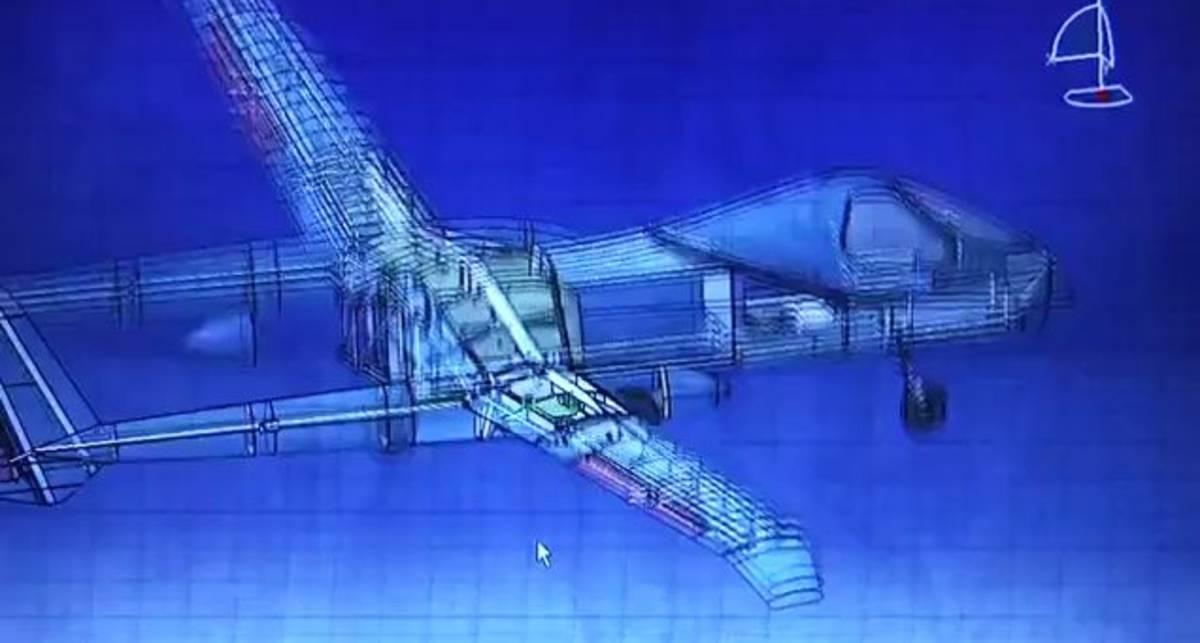 Беспилотный самолет-разведчик Firebird