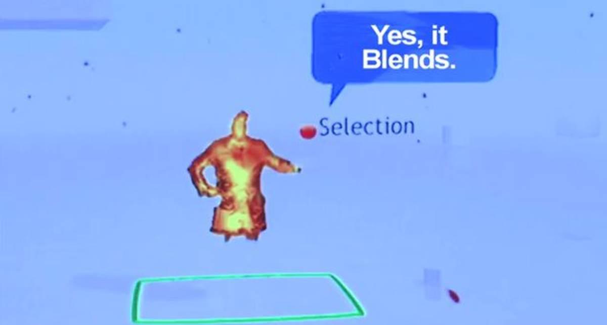 Microsoft Kinect против блендера