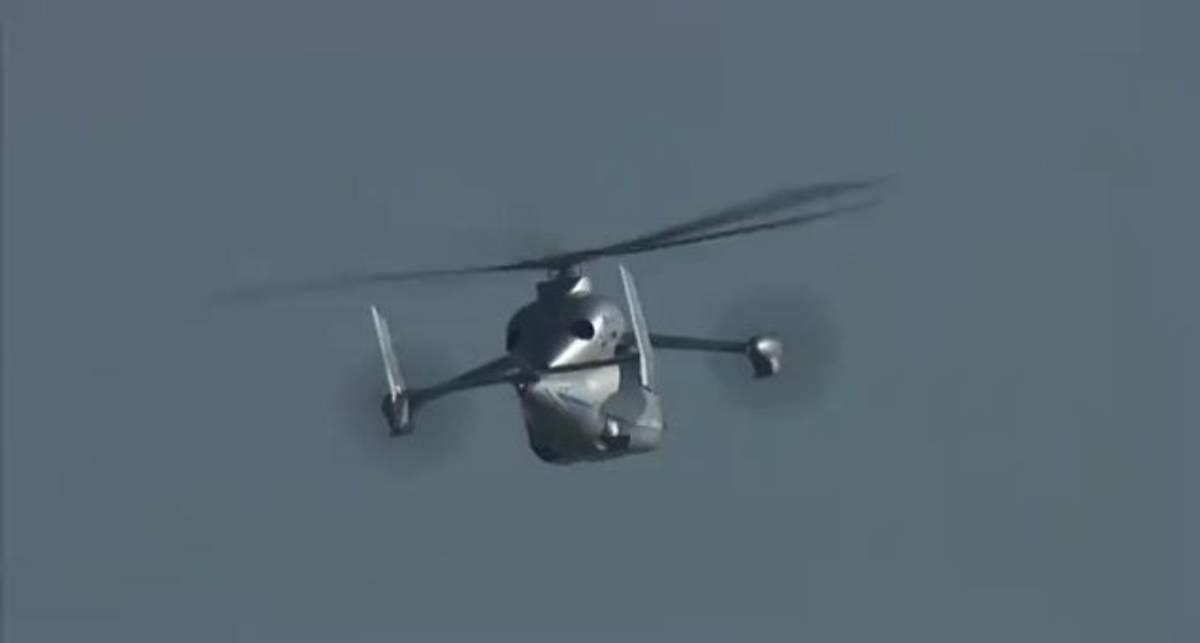 Eurocopter X3 Hybrid - самый скоростной вертолёт на планете