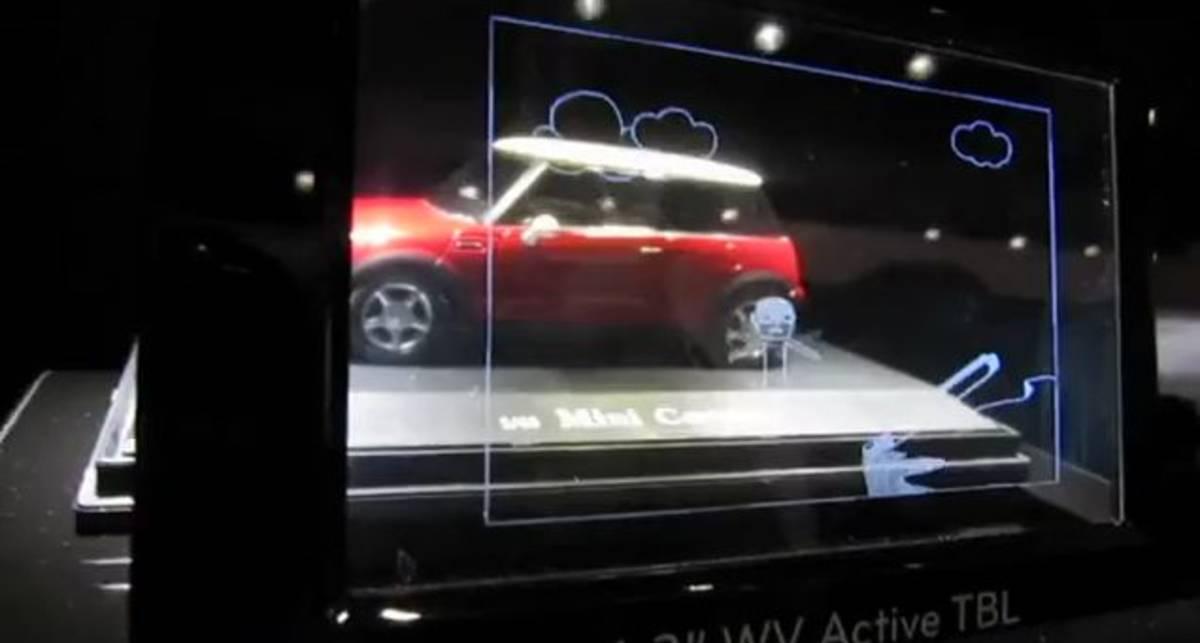 4,3-дюймовый концептуальный дисплей от LG