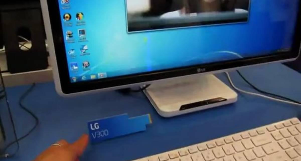 V300 - моноблочный ПК с 3D дисплеем от LG