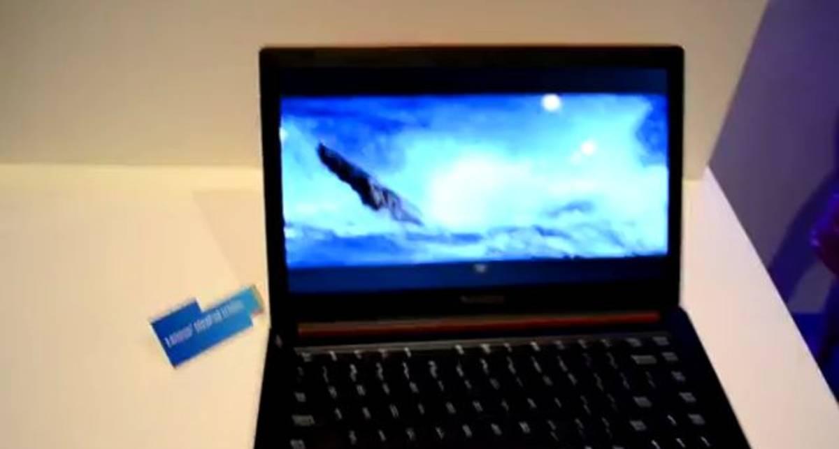 Ультратонкий IdeaPad U300S от Lenovo