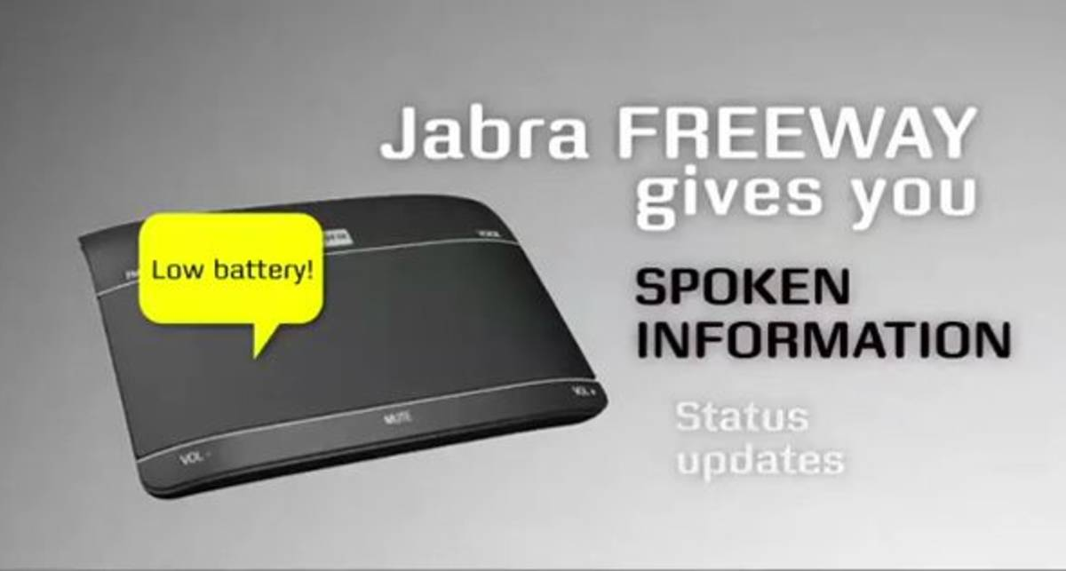 Jabra проанонсировала громкоговоритель FreeWay