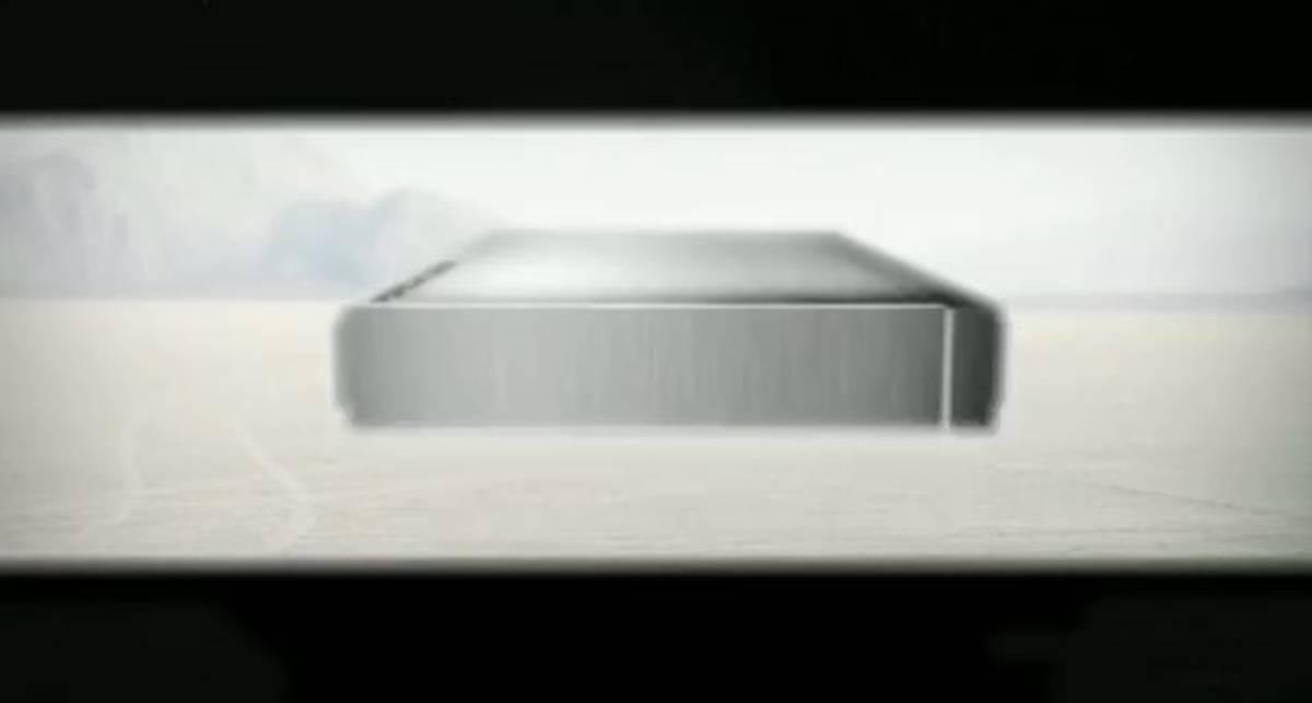 Жесткий диск в стильном алюминиевом корпусе