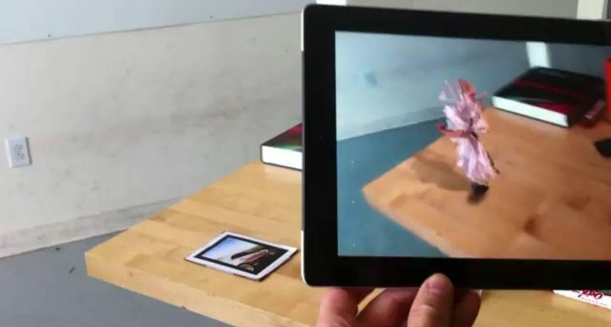 Дополненная реальность с Kinect и IPad