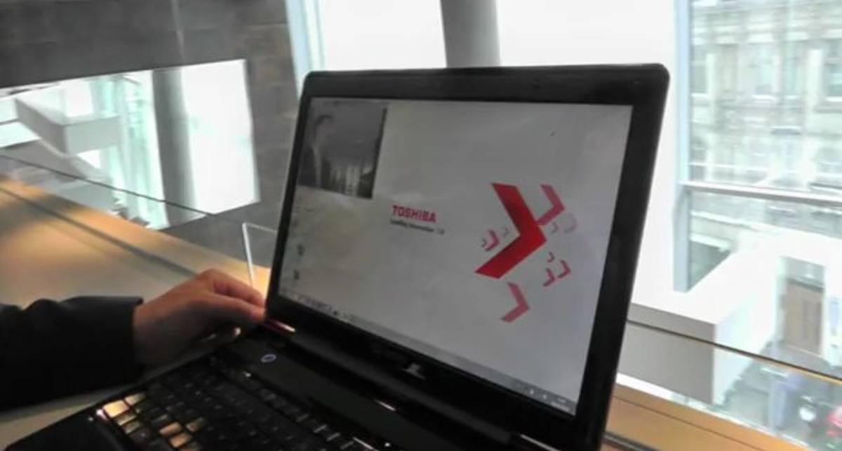 Ноутбук с 3D дисплеем Qosmio F750