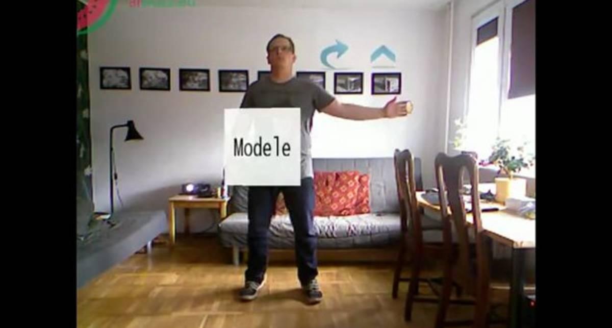 Виртуальная примерочная с Kinect