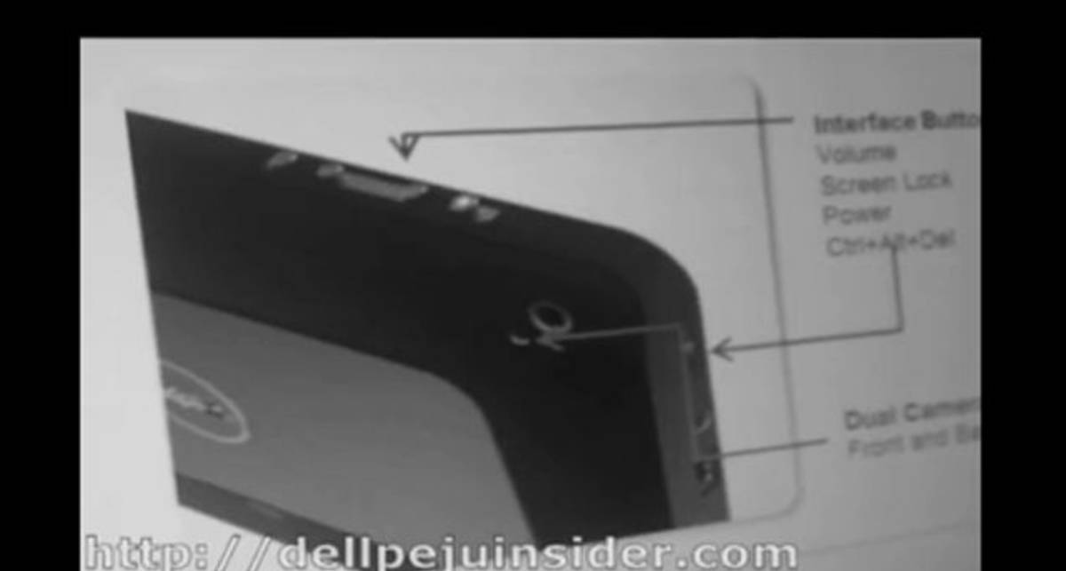 Планшет Dell Peju
