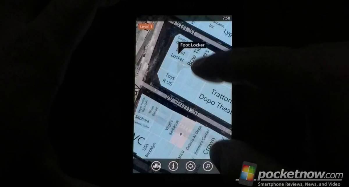 Indoor Maps on Windows Phone 7.5 Mango