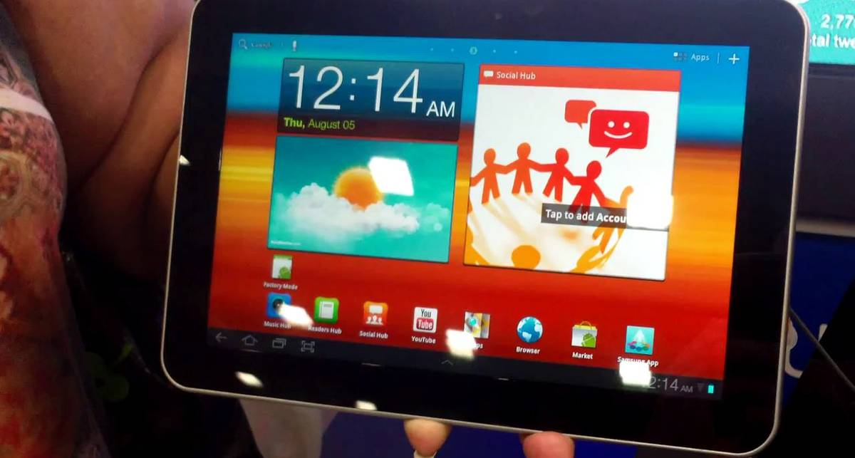 Galaxy Tab 8,9 скоро в продаже