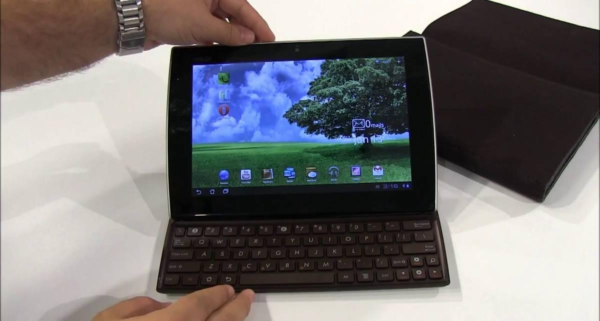 Asus Eee Pad Slider – Android-планшет с клавиатурой