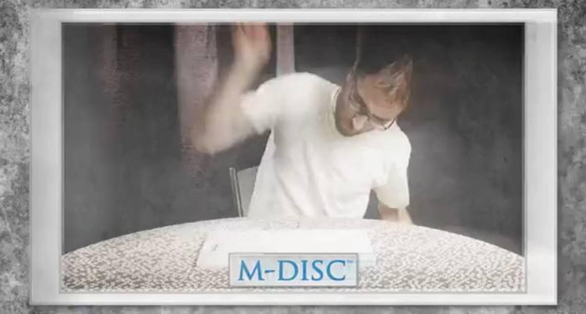 M-Disc сохранит данные на 1000 лет
