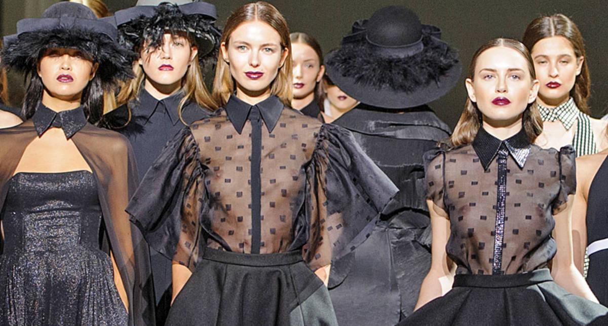 Ukrainian Fashion Week: засветы моделей на подиуме