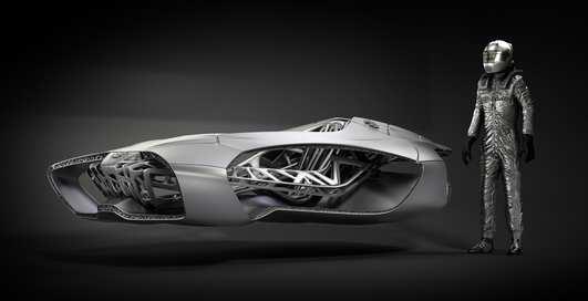 Немцы распечатают автомобиль на 3D-принтере