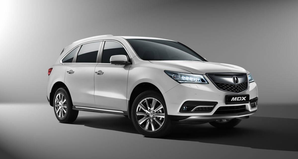 Acura официально представлена в Украине