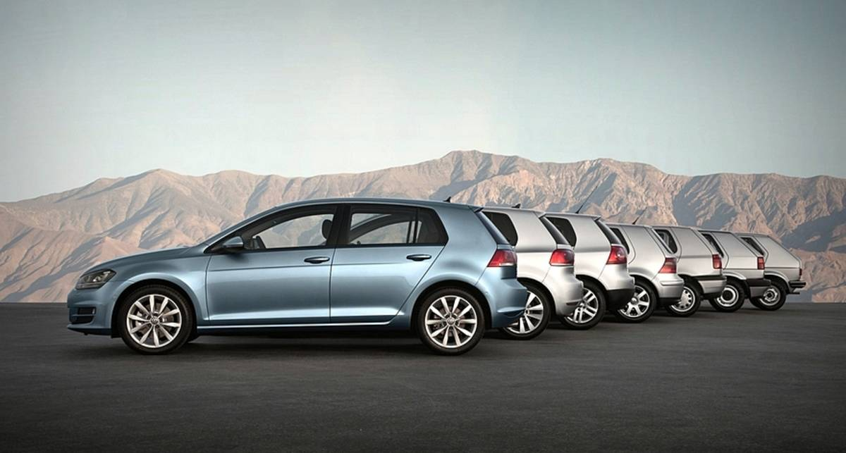 С днем рождения: Volkswagen Golf отмечает юбилей