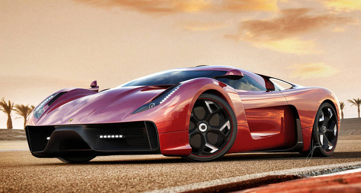 Ferrari Project F: голландцы тюнят новый концепт-кар