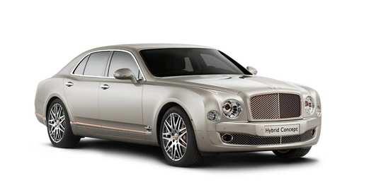 Bentley показала гибридную версию лимузина Mulsanne