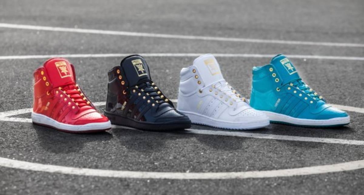 Adidas Originals перевыпустила кроссовки Top Ten