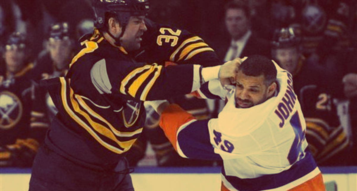 Хоккеист НХЛ нокаутировал оппонента прямо на льду