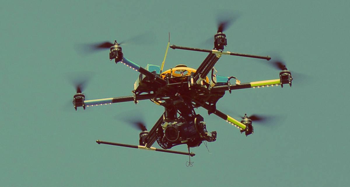 В Великобритании дроны начали воровать марихуану