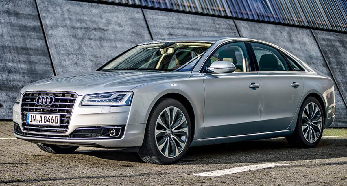 Тест-драйв Audi A8: битва за престол