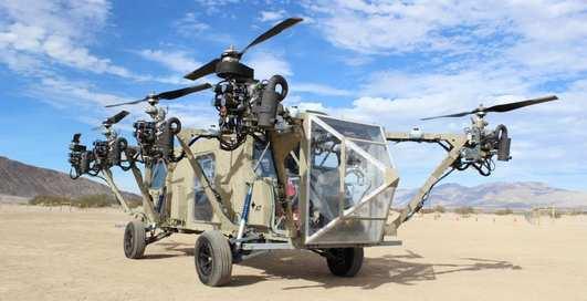 Армия США испытывает первый летающий грузовик