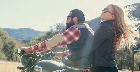 Американские байкеры снялись в рекламе одежды