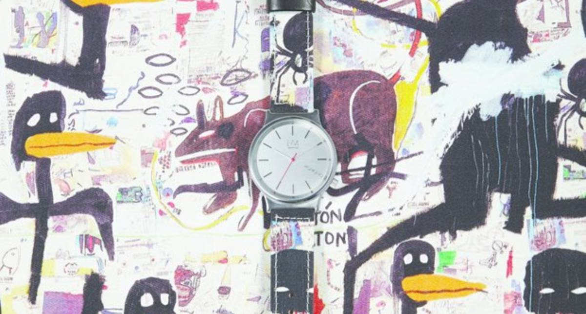 Работы Жан-Мишеля Баския украсили часы Komono