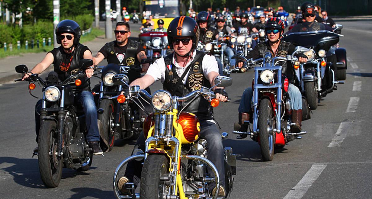 В Киеве открылся новый байкерский сезон