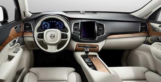 Абсолютно новый Volvo XC90: роскошнейший салон