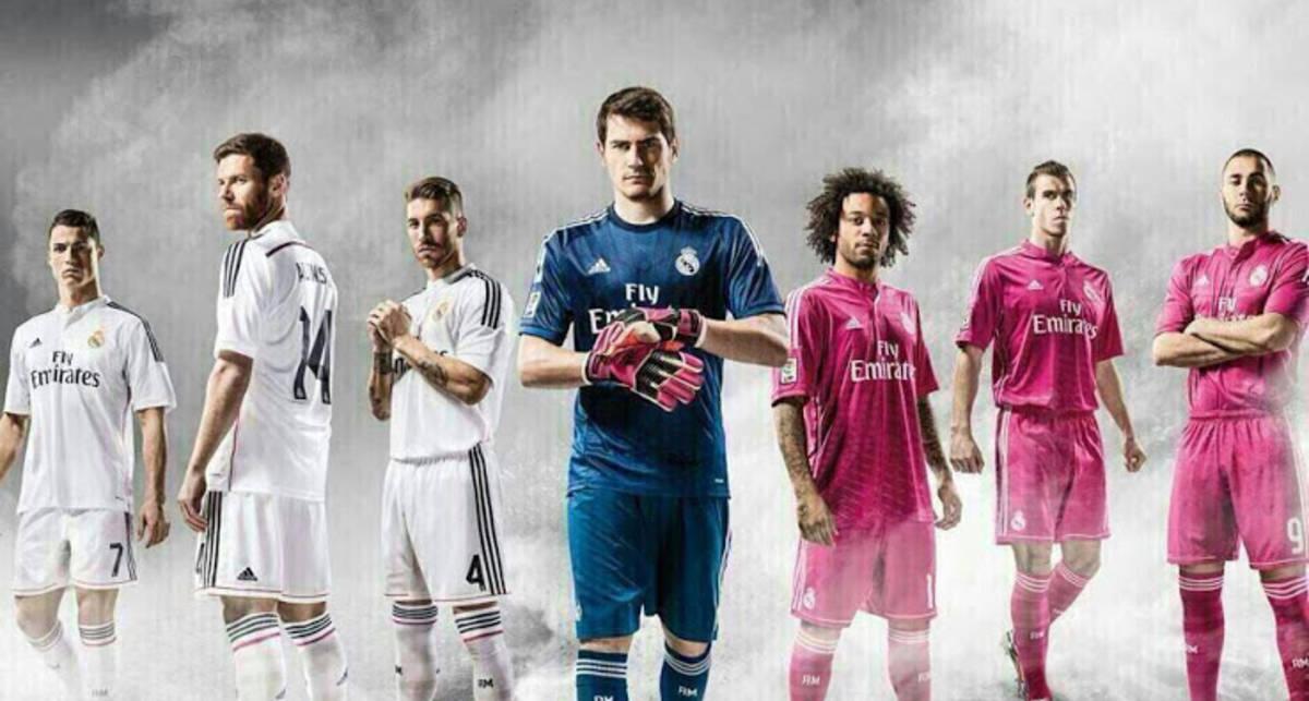 Реал показал розовую форму производства Adidas