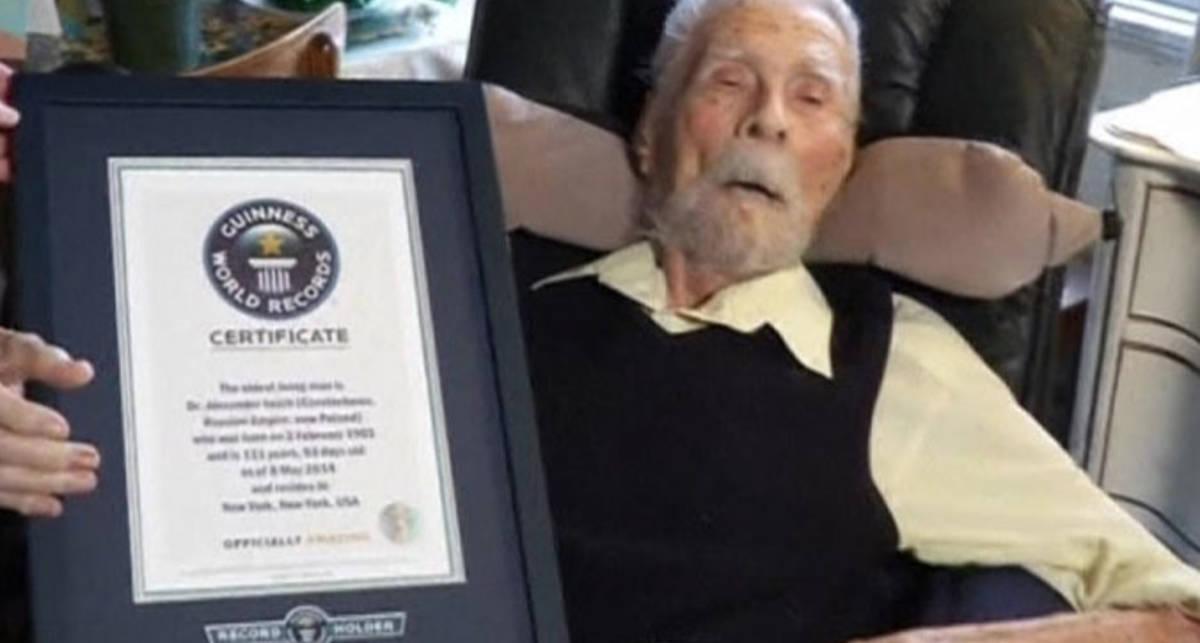 Самый старый мужчина в мире умер в возрасте 111 лет
