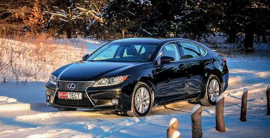 Тест-драйв Lexus ES 300h: Параллельный мир