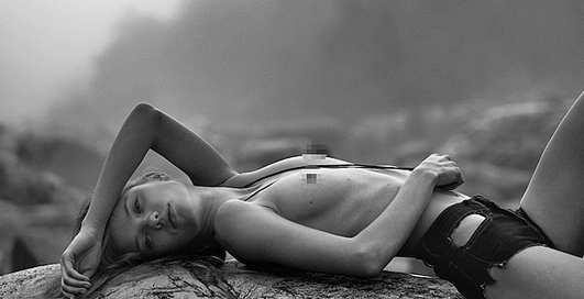 Светлана Клак разделась для журнала Polanski