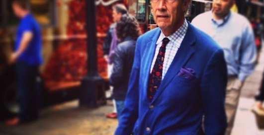 Стиль на пенсии: Instagram-фото пожилых модников