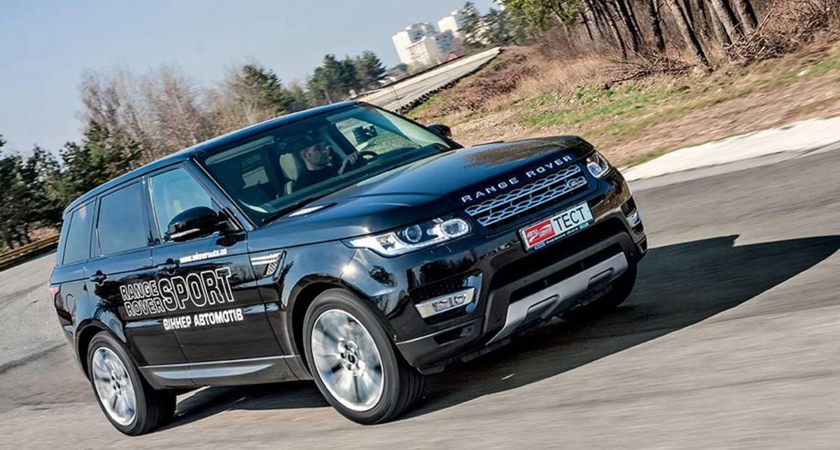 Тест-драйв Range Rover Sport Autobiography 3.0 V6