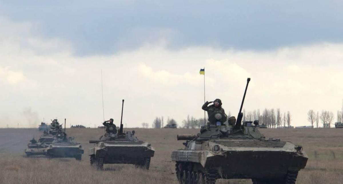 Смотри, как украинская армия готовится к АТО
