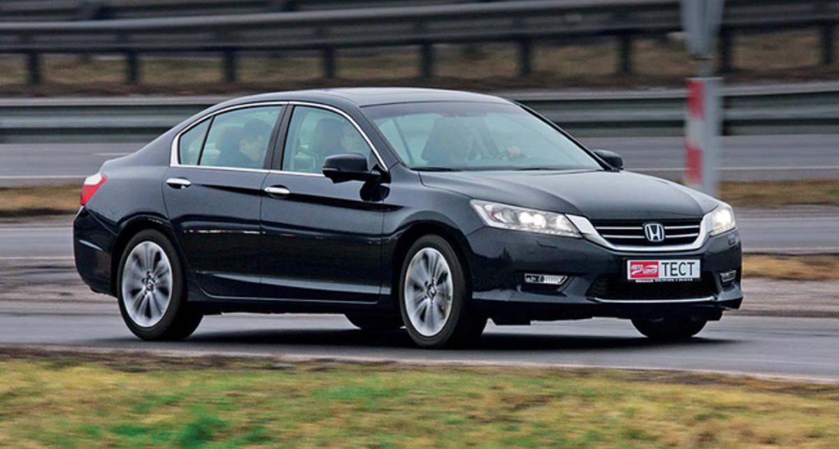 Тест-драйв Honda Accord 3.5: в новой тональности