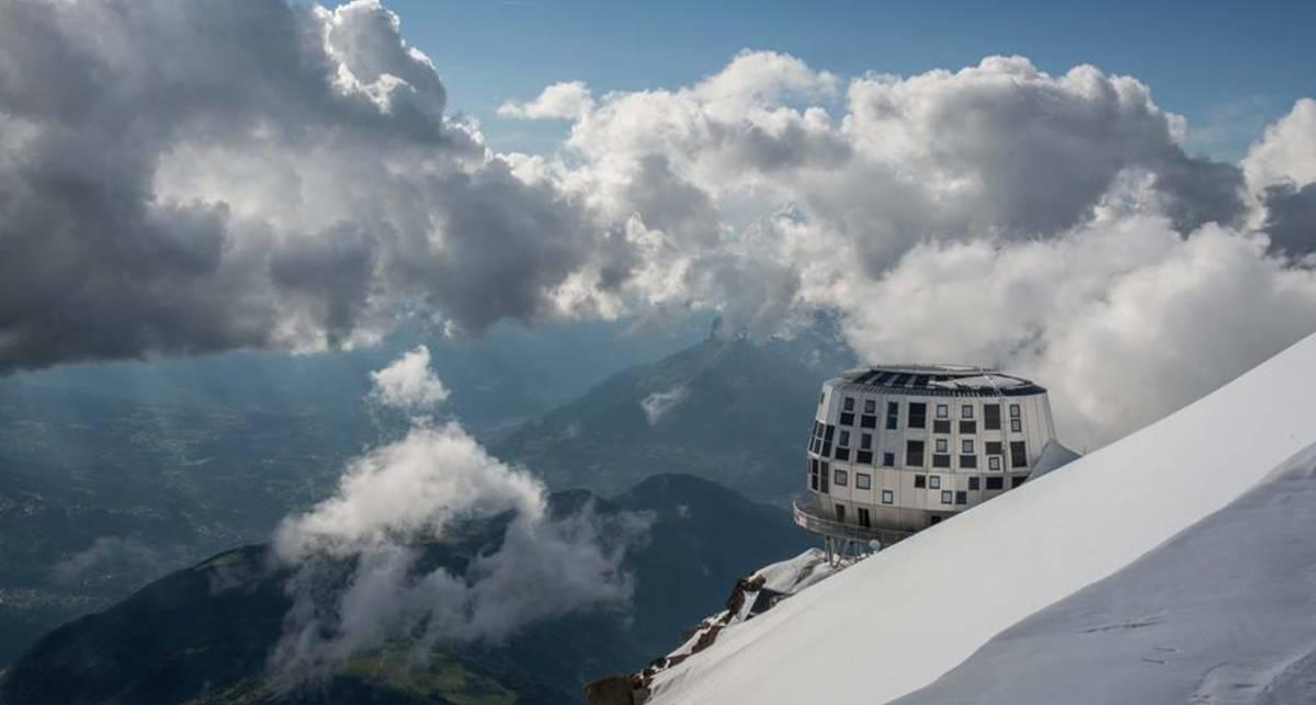 У альпиниста украли ботинки на склоне Монблана