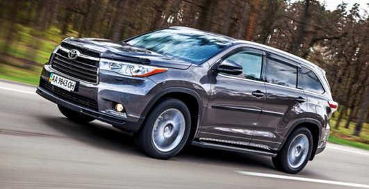 Тест-драйв Toyota Highlander: по третьему разу