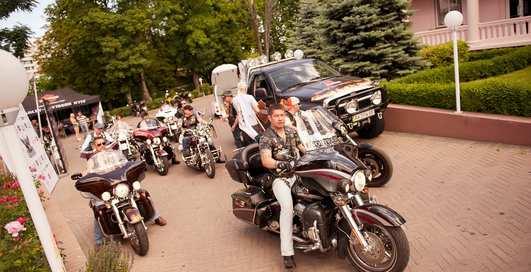 Байкеры на Harley-Davidson покорили Одессу