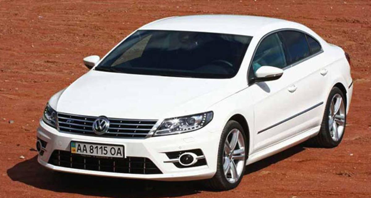 Тест-драйв Volkswagen CC: Лишнее слово