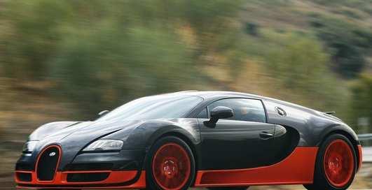 Марка Bugatti представит 1500-сильный гибрид