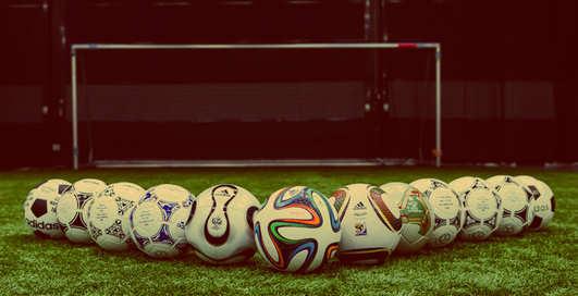 Эволюция футбольных мячей на Чемпионатах мира