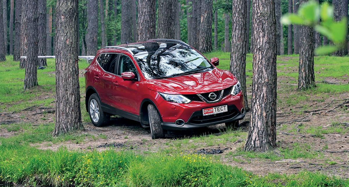 Тест-драйв Nissan Qashqai: Теперь по-новому