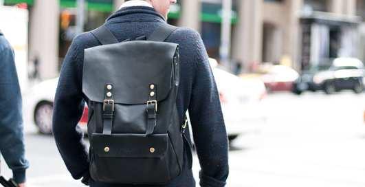 Мужские рюкзаки: 10 самых практичных
